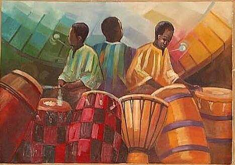 galleria africana paintings art crafts ceramics