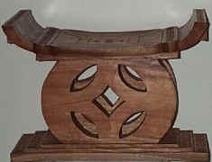 bekwe IIi stool (black)
